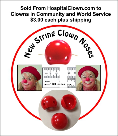 New Style String Clown Nose
