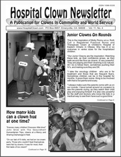 Front Page of Vol 11 No 4 featuring Ruth Cull of Ottawa  Canada and John Glick in Haiti