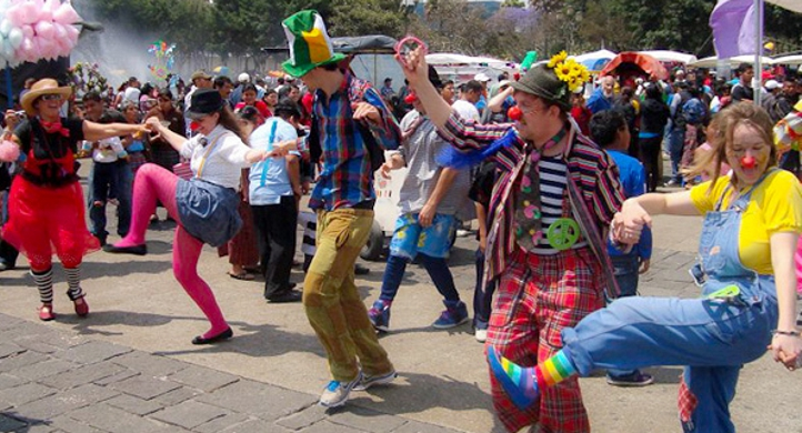 Guatamala Spring Break Clowns